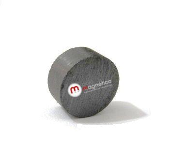 Imã de Ferrite Disco (cerâmica) Y30 10x5 mm
