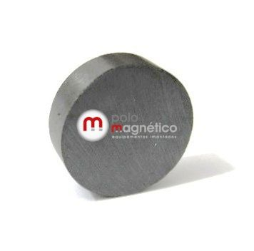 Imã de Ferrite Disco (cerâmica) Y30 16x5 mm