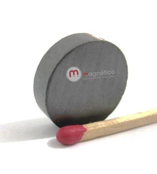 Imã de Ferrite Disco (cerâmica) Y30 18x5 mm