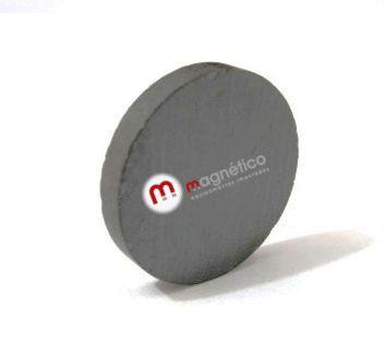 Imã de Ferrite Disco  (cerâmica) Y30 20x3 mm