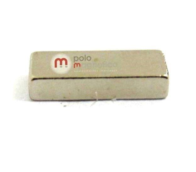 Imã de Neodímio Bloco N35 10x4x2 mm