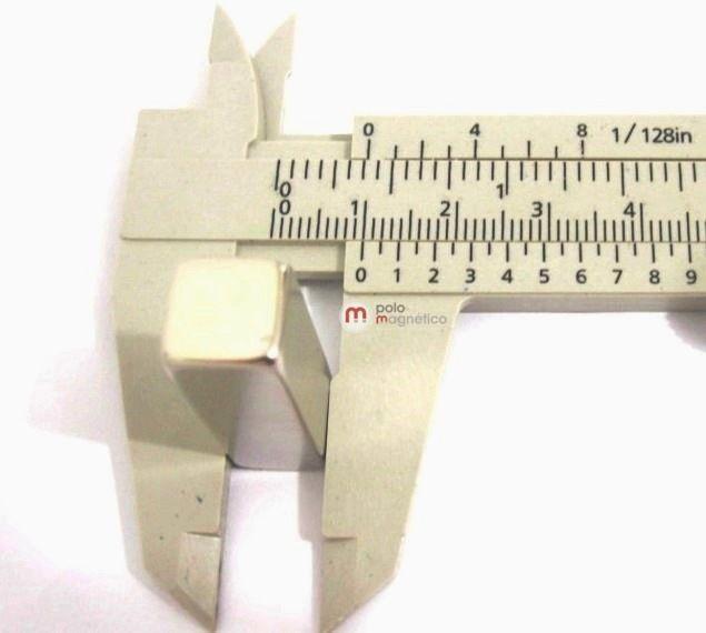 Imã de Neodímio Bloco N35 30x10x10 mm  - Polo Magnético