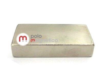 Imã de Neodímio Bloco N35 50x20x10 mm