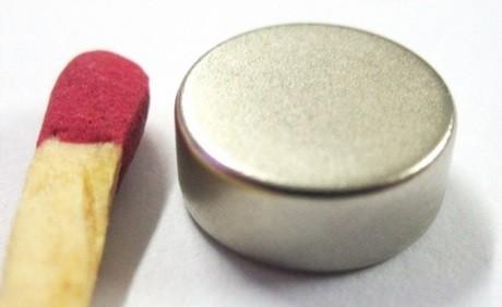 Imã de Neodímio Disco N35 10x4 mm 100 peças  - Polo Magnético