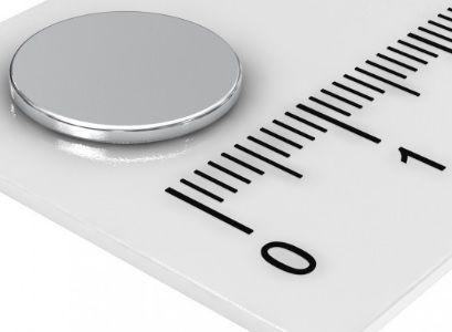 Imã de Neodímio Disco N35 12x1,5 mm Atacado