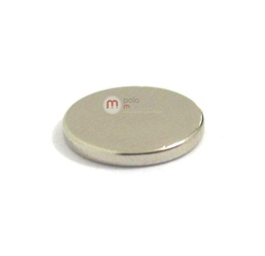 Imã de Neodímio Disco N35 12x1,5 mm Atacado  - Polo Magnético