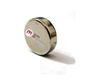 Imã de Neodímio Disco N35 14x4 mm  - Polo Magnético