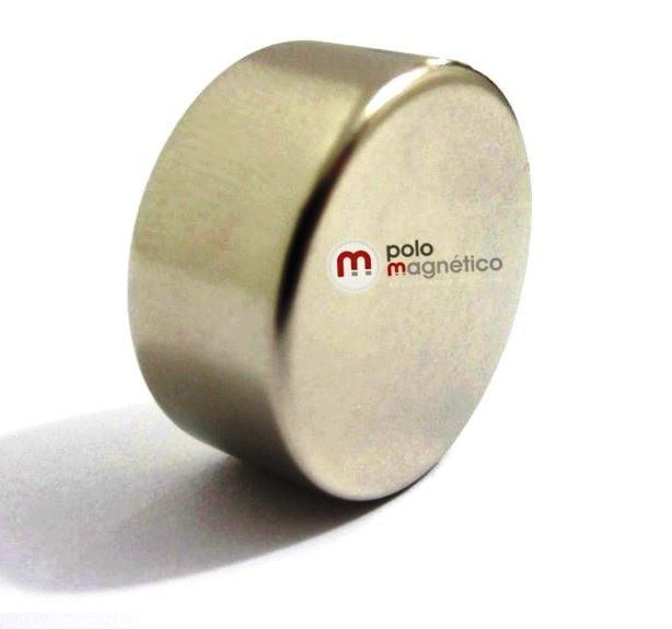 Imã de Neodímio Disco N35 22x10 mm
