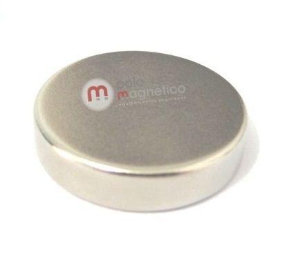 Imã de Neodímio Disco N35 22x5 mm  - Polo Magnético