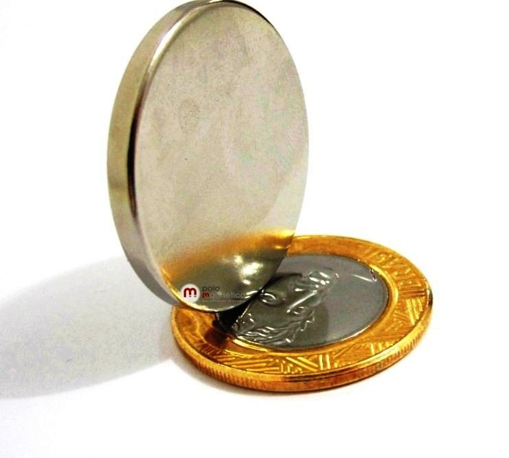 Imã de Neodímio Disco N35 30x3 mm