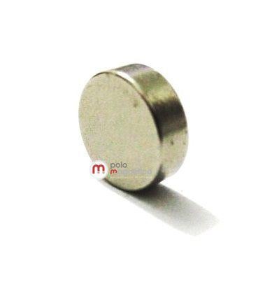 Imã de Neodímio Disco N35 7,5x2,5 mm