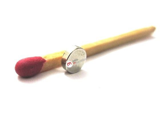Imã de Neodímio Disco N35SH 5x1,5 mm 140°C