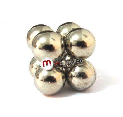 Ímã de Neodímio Esfera N35 10mm  - Polo Magnético