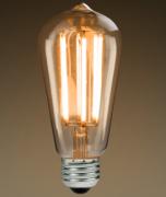 Lampada Led Filamento de Carbono 4W-ST64