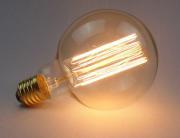 Lampada Led Filamento de Carbono G95 4W