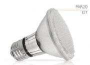 Lâmpada LED PAR20 1,5w Ambar- 127V