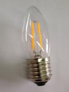 Lampada Led Vela Filamento 4W E-27