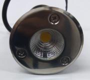 Mini Balizador LED 3W SOLO / DECK - Branco Quente