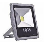 REFLETOR LED SLIM 10W - CINZA - Promoção