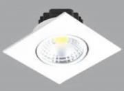 SPOT LED EMBUTIDO QUAD 5W BQ - BRANCO - DL105B