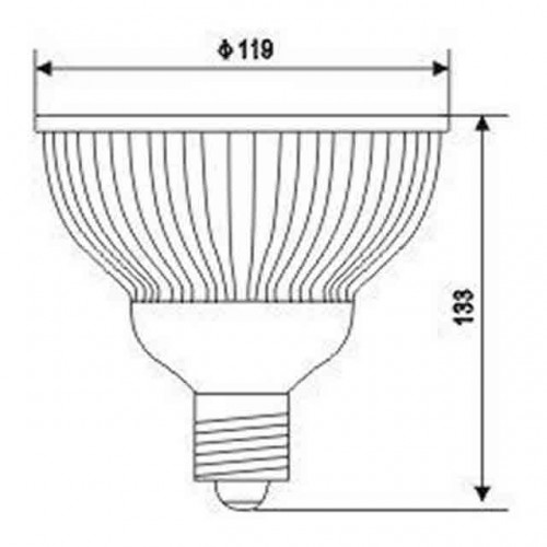 Lâmpada LED PAR 38 - 9w - Promoção!  - 9led