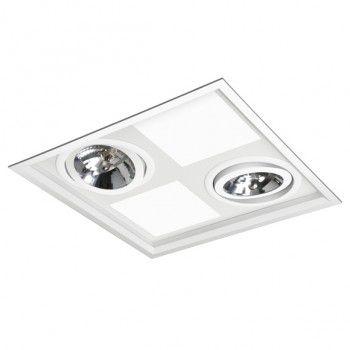 Luminaria Embutir BL 1271/4E  - 9led