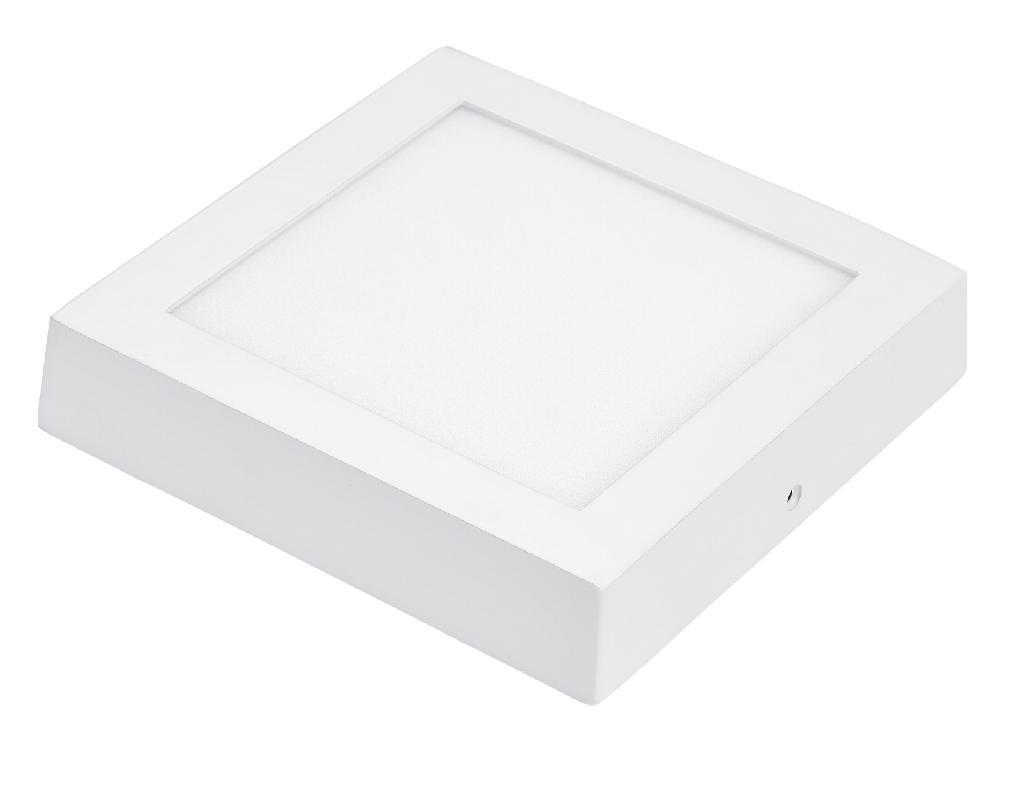Luminária LED Sobrepor Quadrado 25w  - 9led