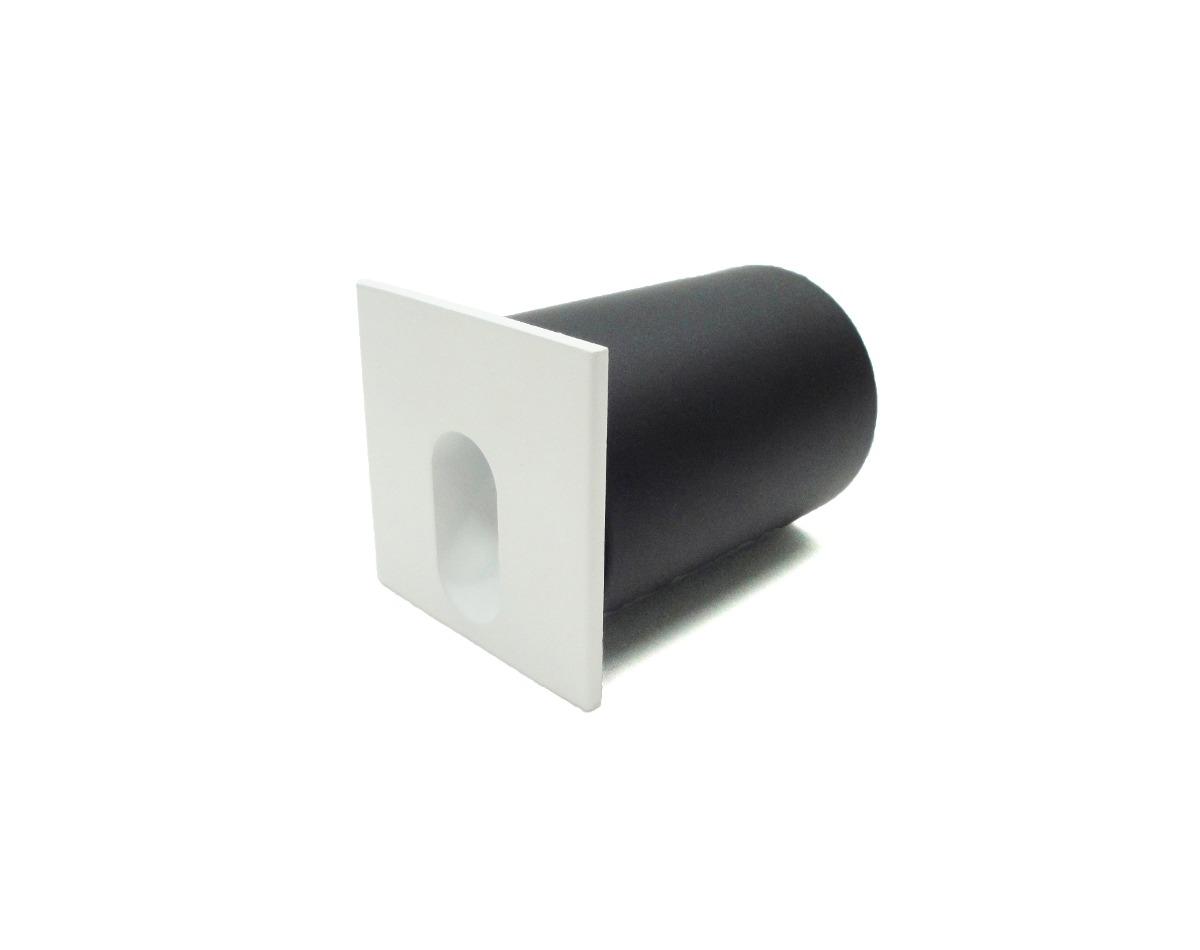 Mini Balizador LED 3w - Quadrado- Super Preço!  - 9led