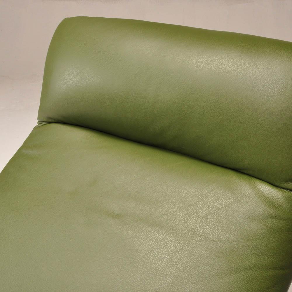 Poltrona reclinável Demi em couro  - Interdomus LAFER