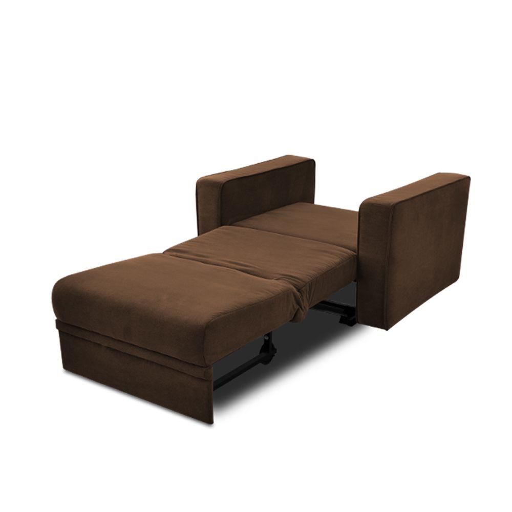 Poltrona-cama Pillows da LAFER em tecido  - Interdomus LAFER