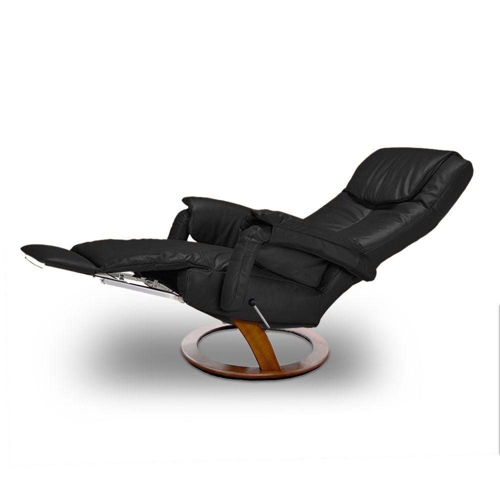 Poltrona reclinável Aline em couro  - Interdomus LAFER