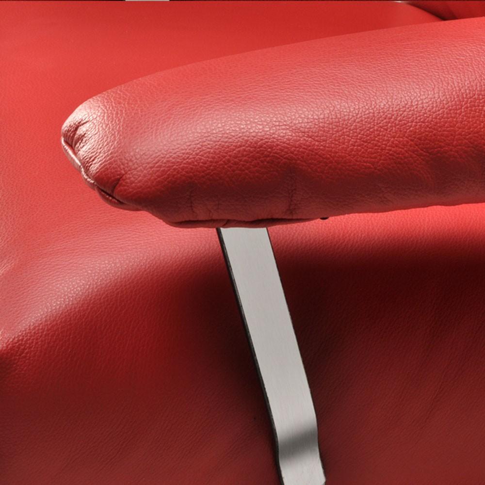 Poltrona reclinável Elis em couro  - Interdomus LAFER