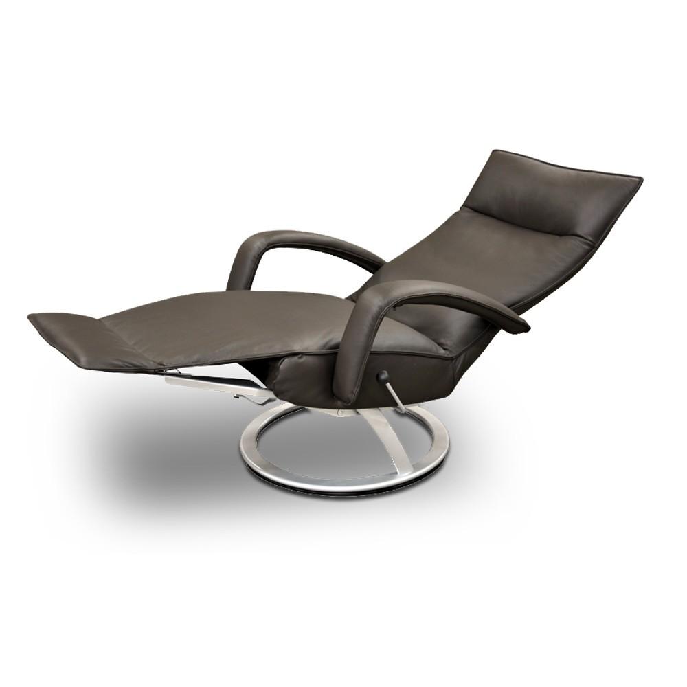 Poltrona reclinável Lady em couro  - Interdomus LAFER