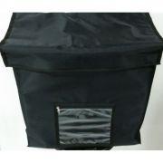 TERMO BAG DE 35 CM FORMATO QUADRADO P/02 PIZZAS