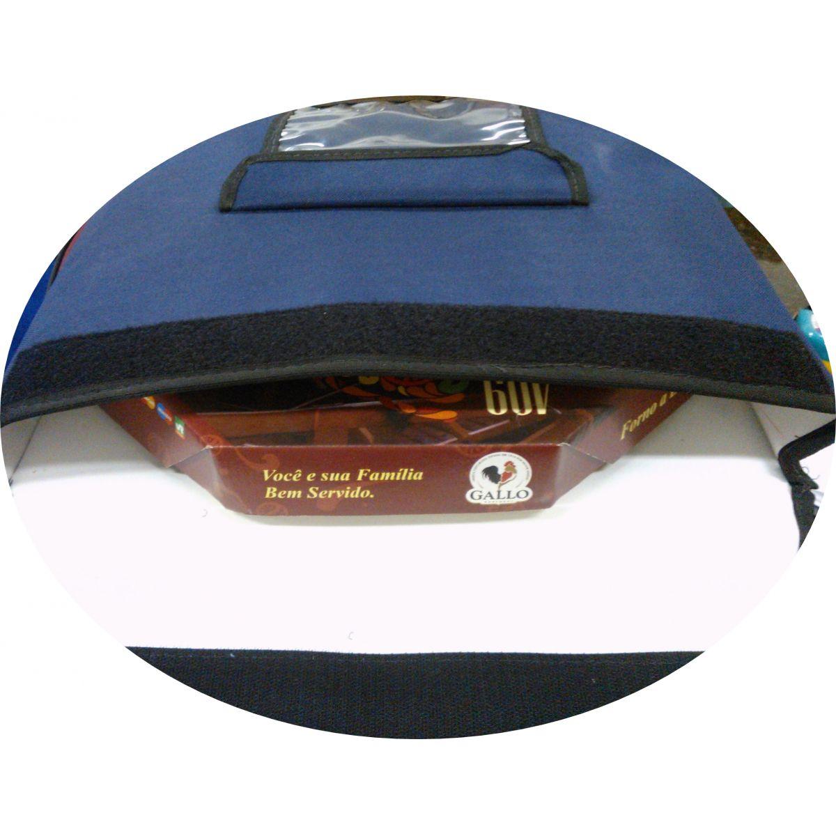 TERMO BAG DE 35 CM FORMATO QUADRADO P/06 PIZZAS  - Fórum de Pizzas Vendas online