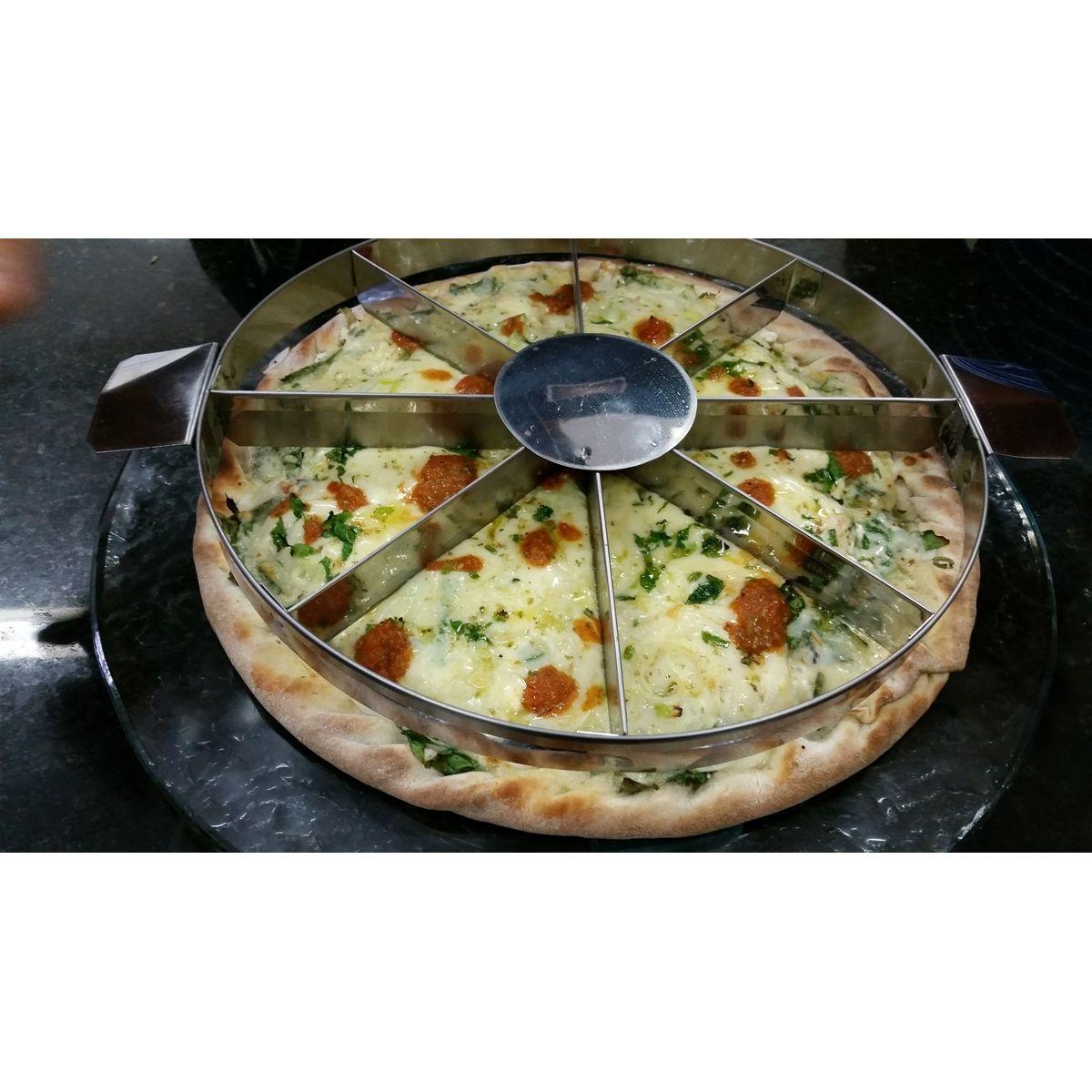 MARCADOR DE PIZZA 06 PEDAÇOS P/ PIZZAS DE 38/40 CM  - Fórum de Pizzas Vendas online