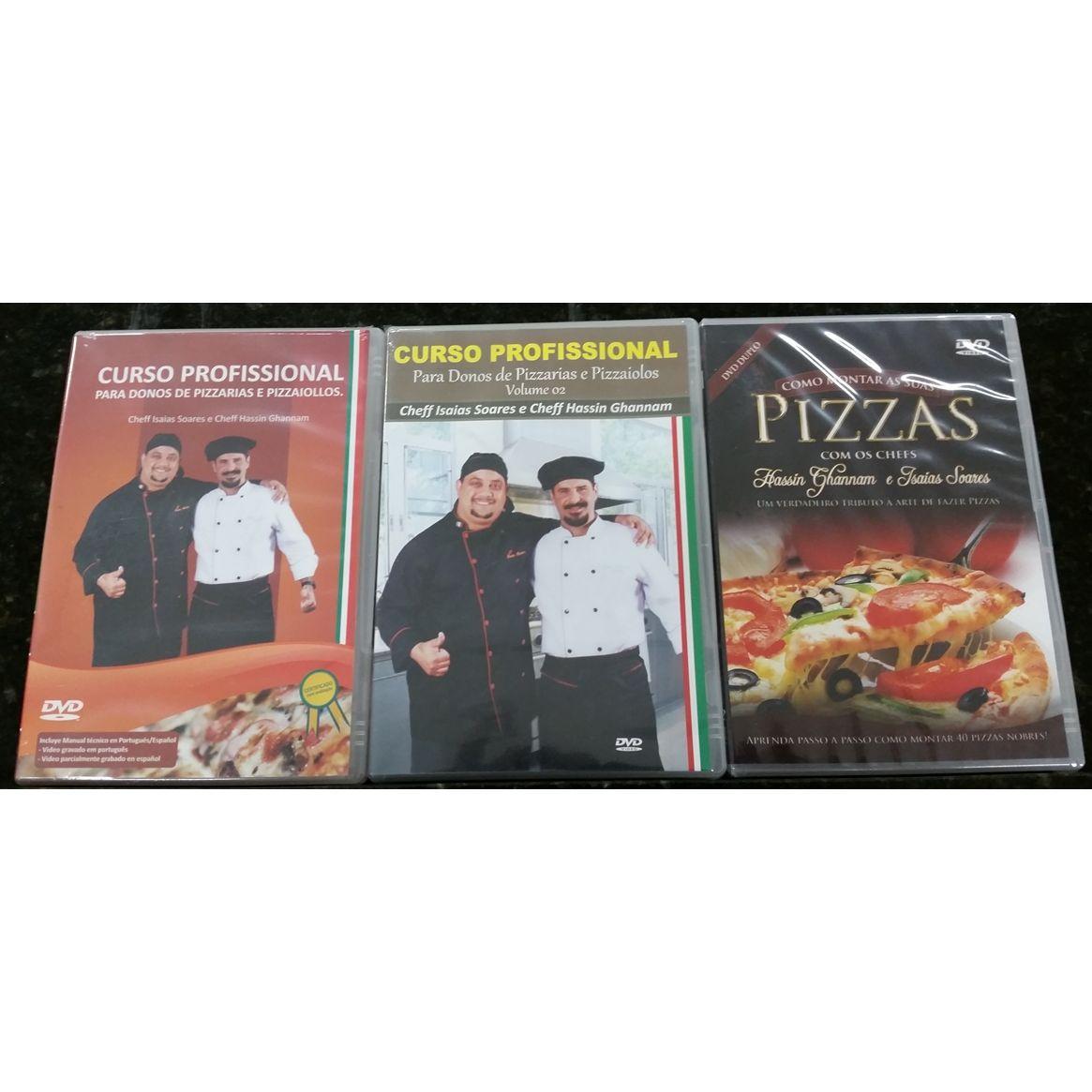 TRILOGIA DOS DVDs  VOLUMES I, II,II POR SEDEX  - Fórum de Pizzas Vendas online