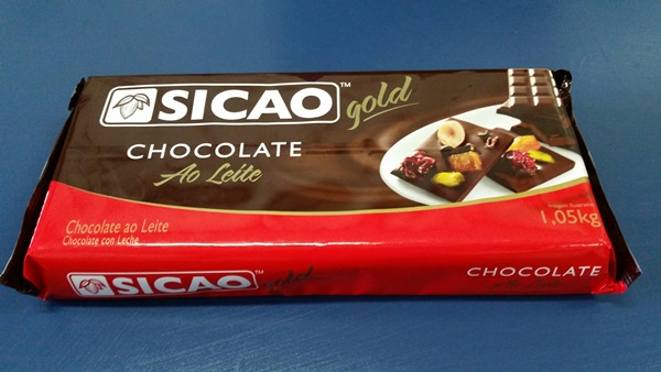 Barra de Chocolate Sicao 1 KG  - Fórum de Pizzas Vendas online