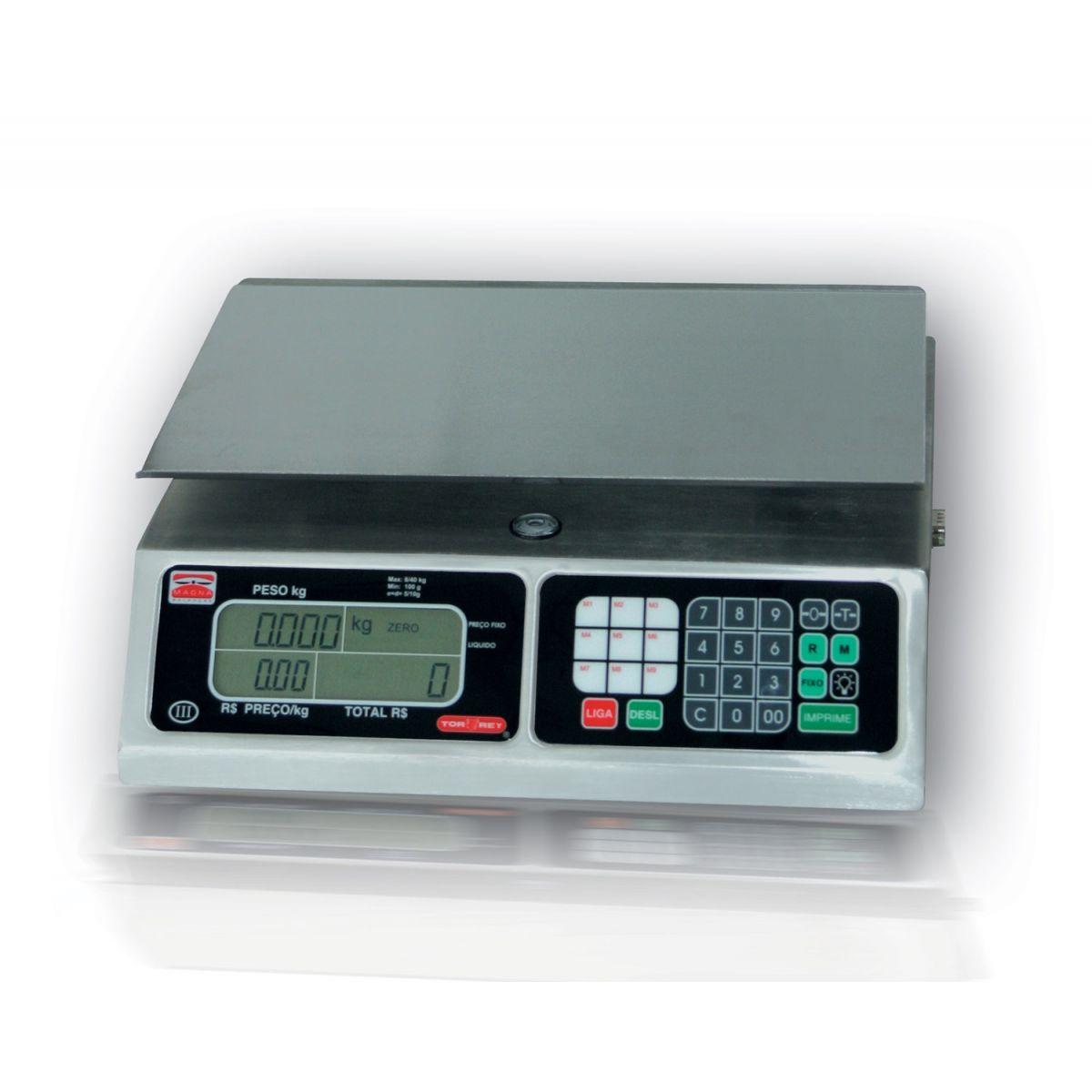 Balança digital c/ carregador Magna Torrey  - FÓRUM DE PIZZAS