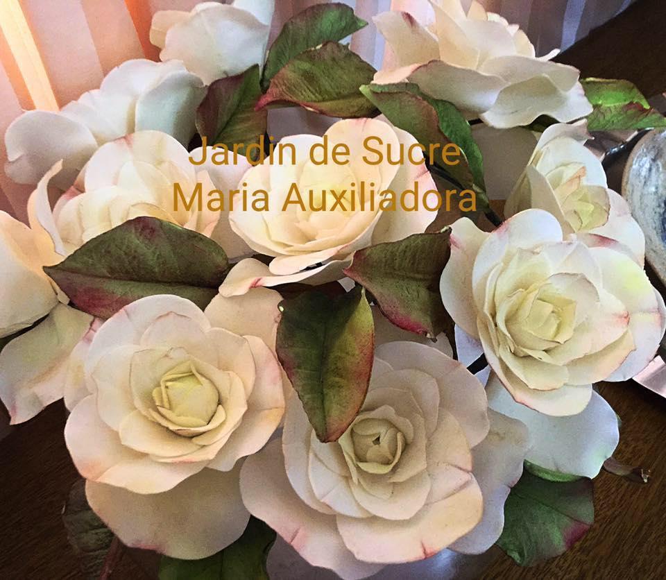 CURSO DE FUNDAMENTAÇÃO DE FLORES DE AÇÚCAR - CHEF MARIA AUXILIADORA MADIO  - FÓRUM DE PIZZAS