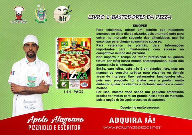 DOCUMENTOS PROFISSIONAIS DO SEGMENTO PIZZEIRO DO CHEFF APOLO - TRILOGIA  - Fórum de Pizzas Vendas online