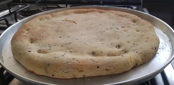 Massa de Pizza sem Glúten do Cheff Hassin  - FÓRUM DE PIZZAS