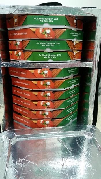 MOCHILA MOTOBOY P/ 10 UNIDADES DE PIZZAS DE 35 CM  - Fórum de Pizzas Vendas online