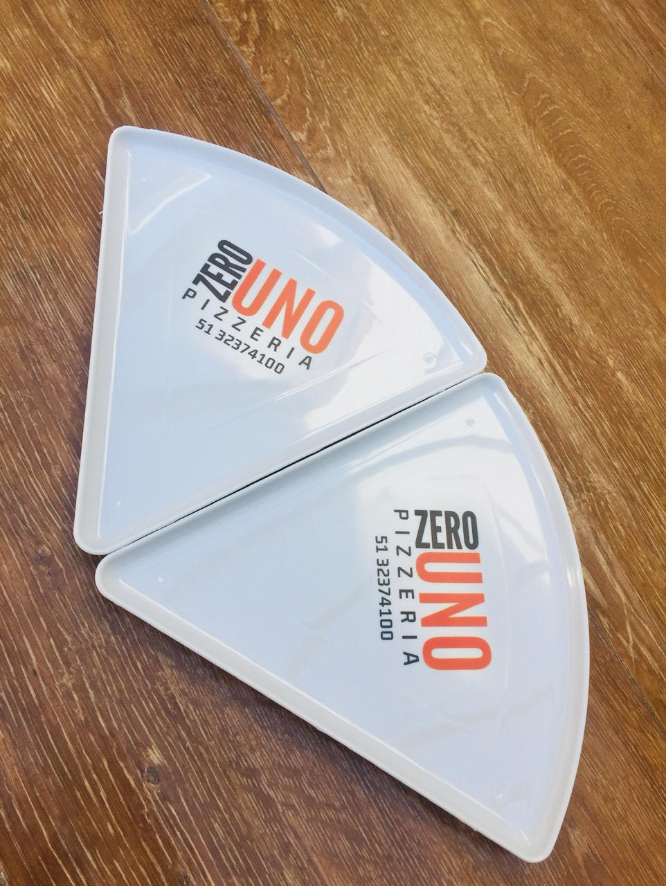 PRATO TRIANGULAR P/ PEDAÇO DE PIZZA, FESTAS, EVENTOS, COMEMORAÇÕES, ETC.  - FÓRUM DE PIZZAS