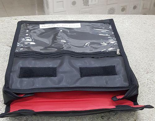 TERMO BAG DE 35 CM FORMATO QUADRADO DESDE:  01 a 05 PIZZAS  - FÓRUM DE PIZZAS