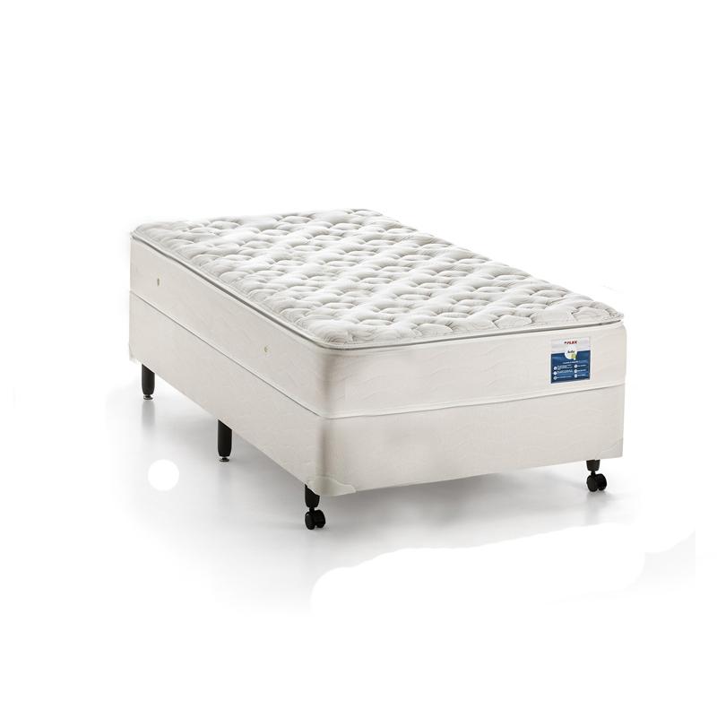 Colchão+Box da Flex de Molas LFK AVILA MAX ONE SIDE