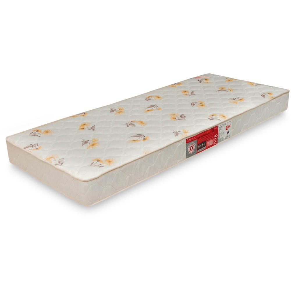 Colchão de Espuma da Castor SLEEP MAX D 28 C/ 15 CM DE ALT