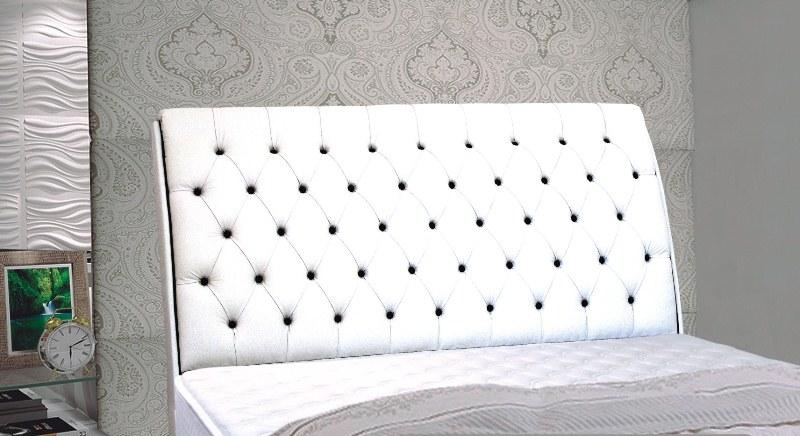 Cabeceira em Corino MB para cama box  Veranda Color