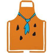 Avental Algodao Hb Flinstones Fred Flintstone Body Laranja