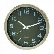 Relógio Mia De Parede Aluminium Natural 41x41x6cm